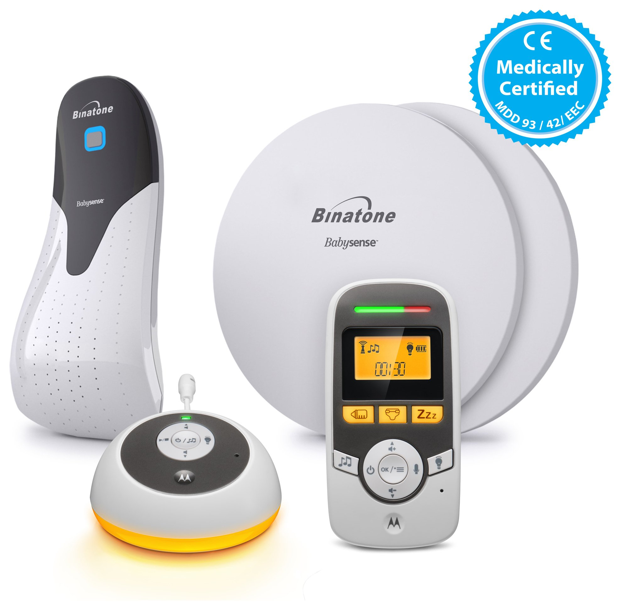 motorola mbp 161 babysense baby monitor and sensor pads baby deals of the day uk. Black Bedroom Furniture Sets. Home Design Ideas