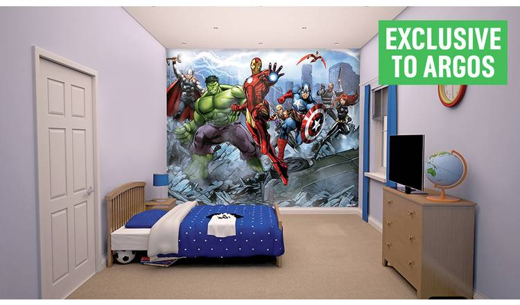 93c0fb3c392 Buy Walltastic New Avengers Wall Mural | Limited stock Home and ...