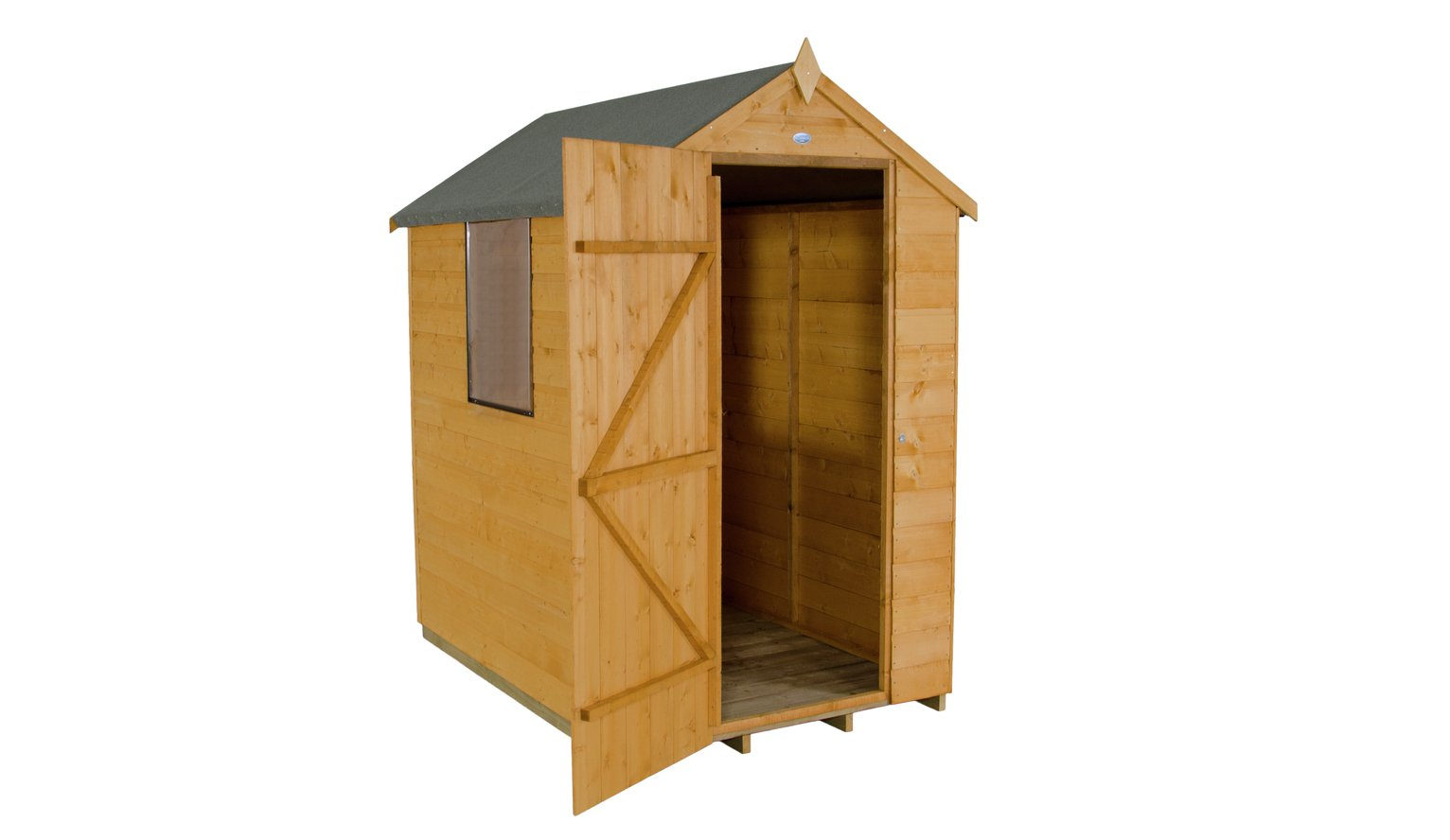 Forest Wooden 6 x 4ft Shiplap Apex Shed