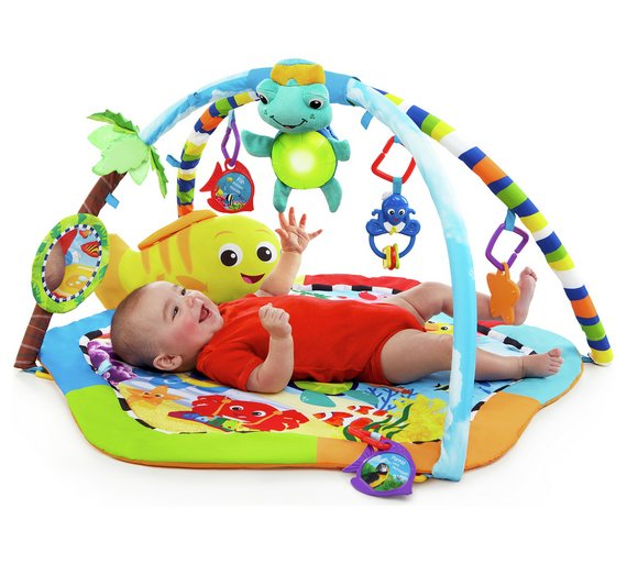 buy baby einstein rythm reef play gym at. Black Bedroom Furniture Sets. Home Design Ideas