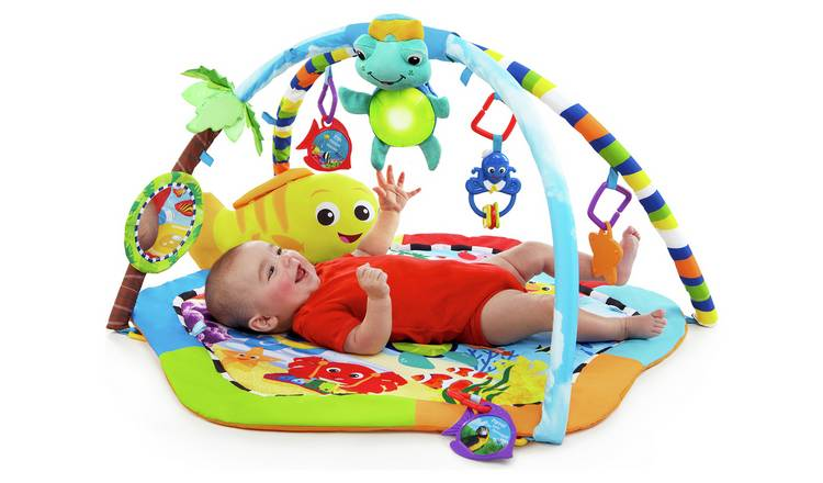 Baby Einstein Rhythm of the Reef Gym with Lights and Sounds