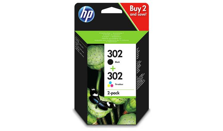 HP 302 Original Ink Cartridges - Black & Colour
