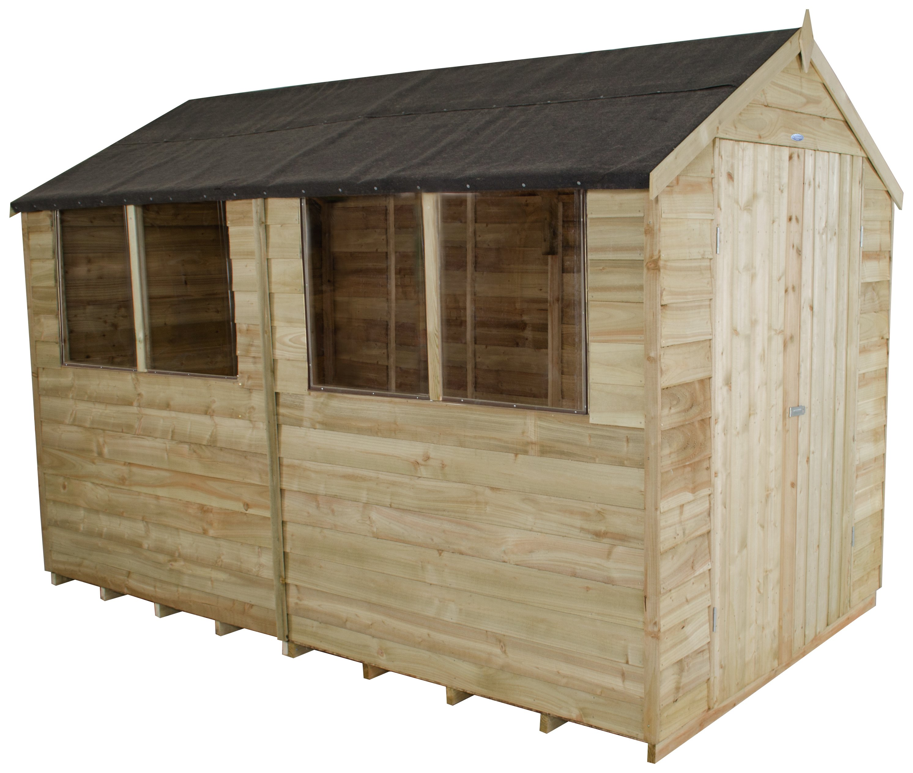 forest-overlap-wooden-double-door-shed-6-x-10ft