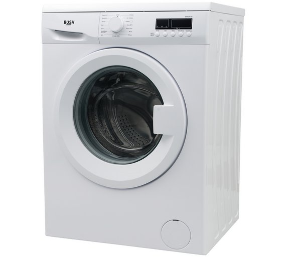 buy bush wmns814w 8kg 1400 spin washing machine white at. Black Bedroom Furniture Sets. Home Design Ideas