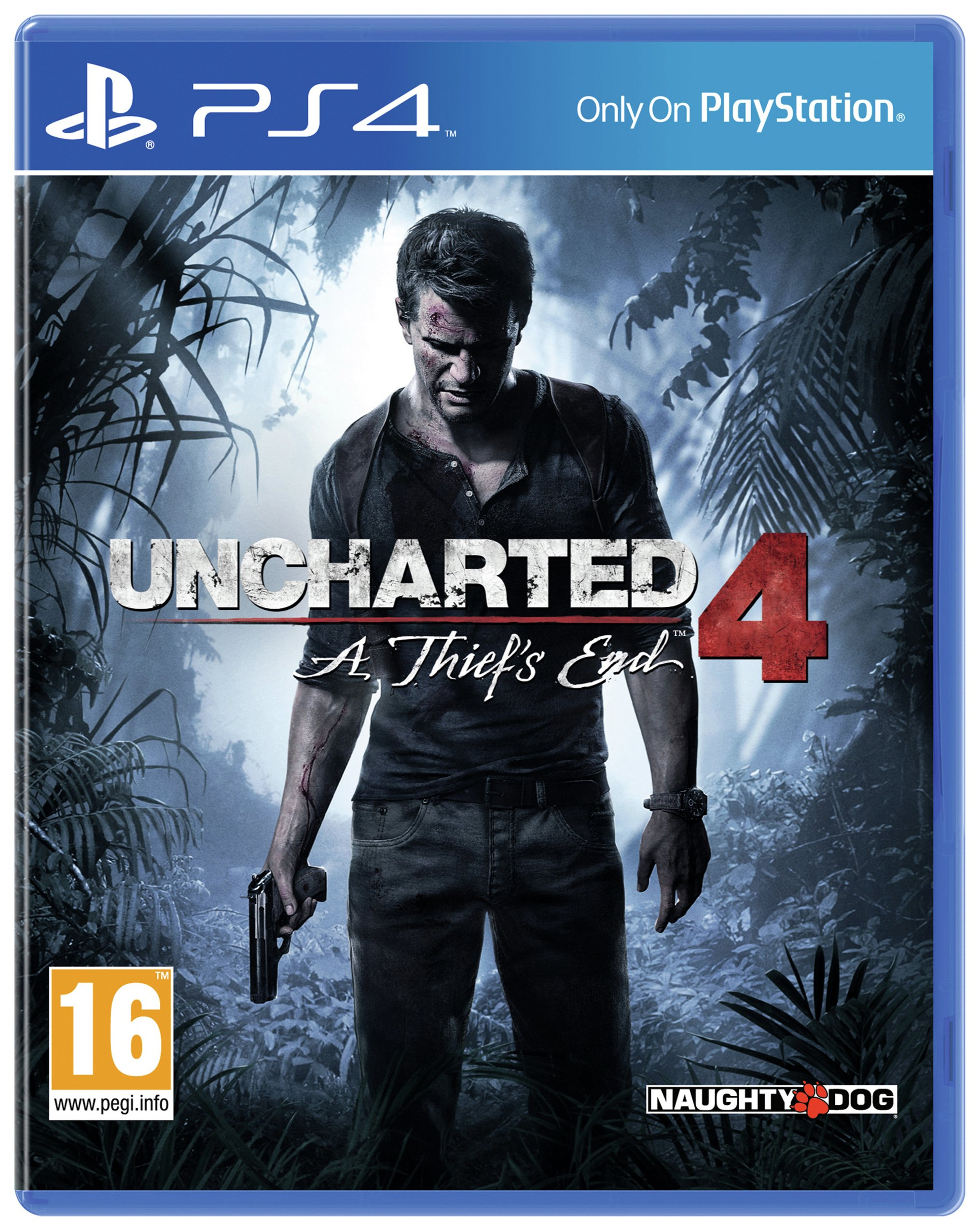 Uncharted 4 - A Thief's End Launch Edition - PS4 Game.