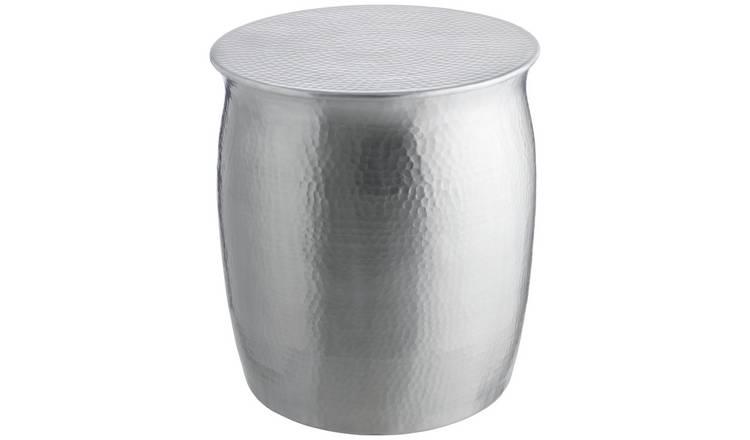 Buy Habitat Orrico Side Table Silver Side Tables Argos