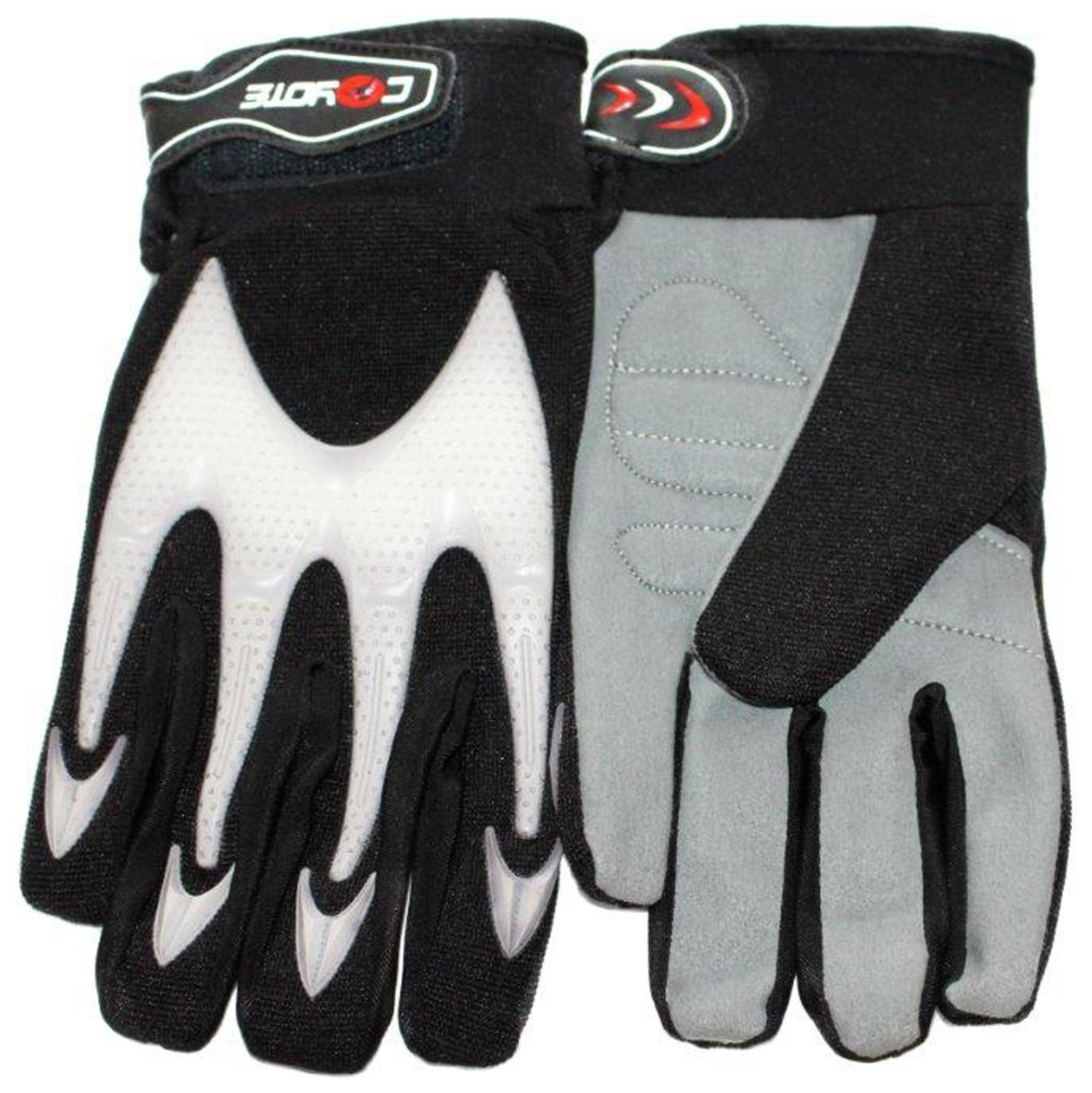Driving gloves argos - Coyote Large Bmx Gloves Black And White