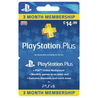 PlayStation Plus: 3 Month Membership (PSN)