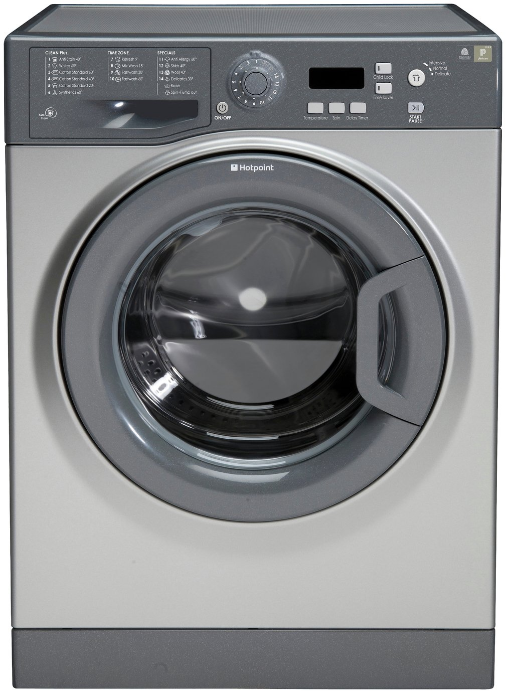 Image of Hotpoint WMXTF942G 1400 Spin Washing Machine - Graphite