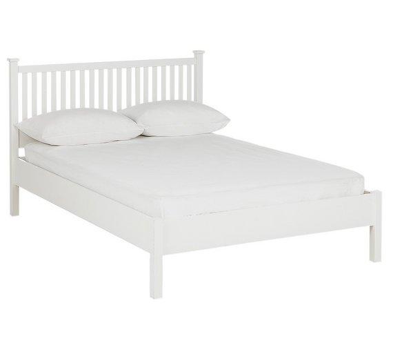 home adalia kingsize bed frame white5065820