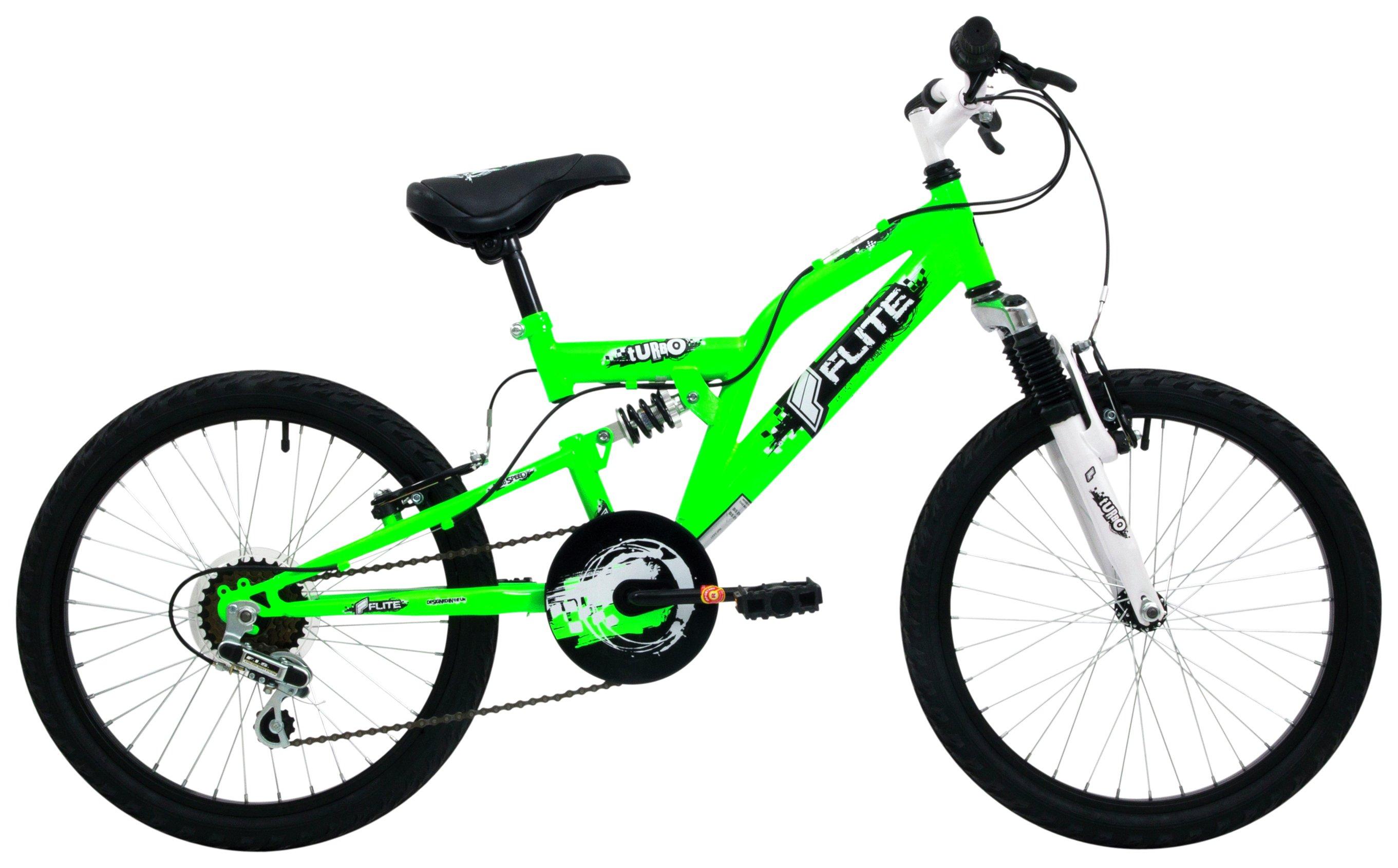 Flite Turbo 20 inch Junior Full Suspension Bike