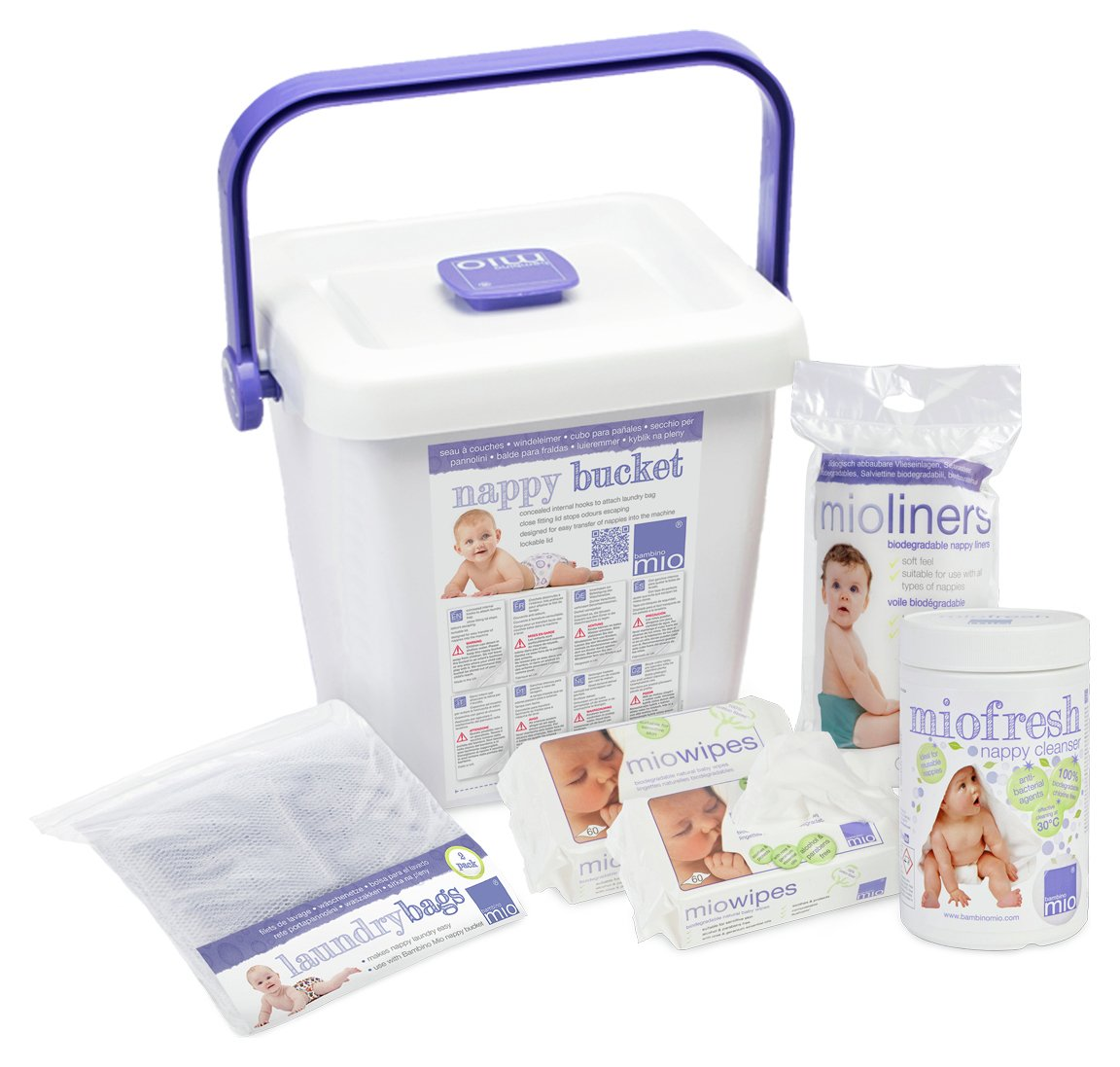 Image of Bambino Mio Reusable Nappy Accessory Pack.