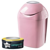 Tommee Tippee - Sangenic Tec Nappy Disposal Tub - Pink