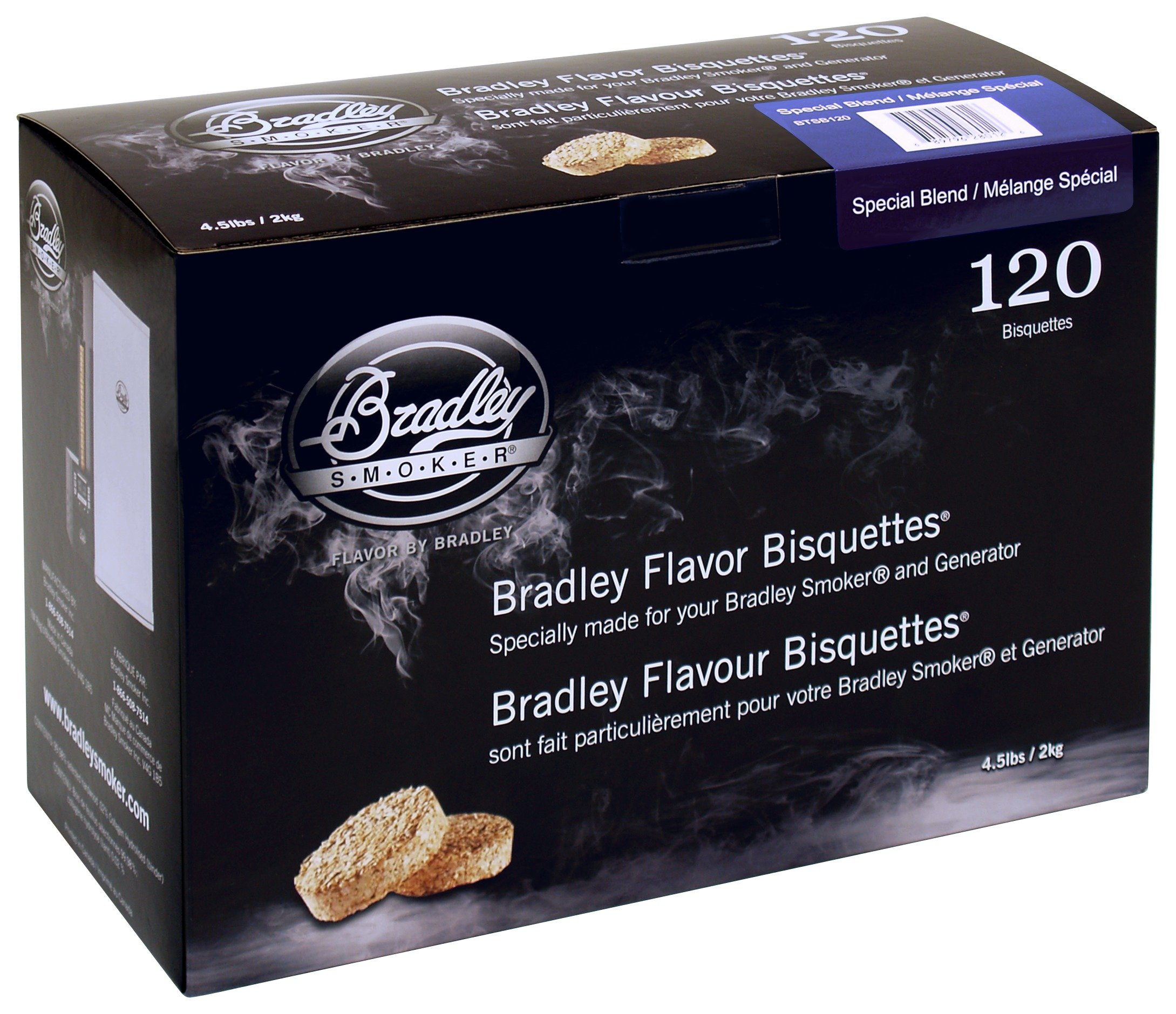 Image of Bradley Smoker - Special Blend Bisquettes - 120 Pack