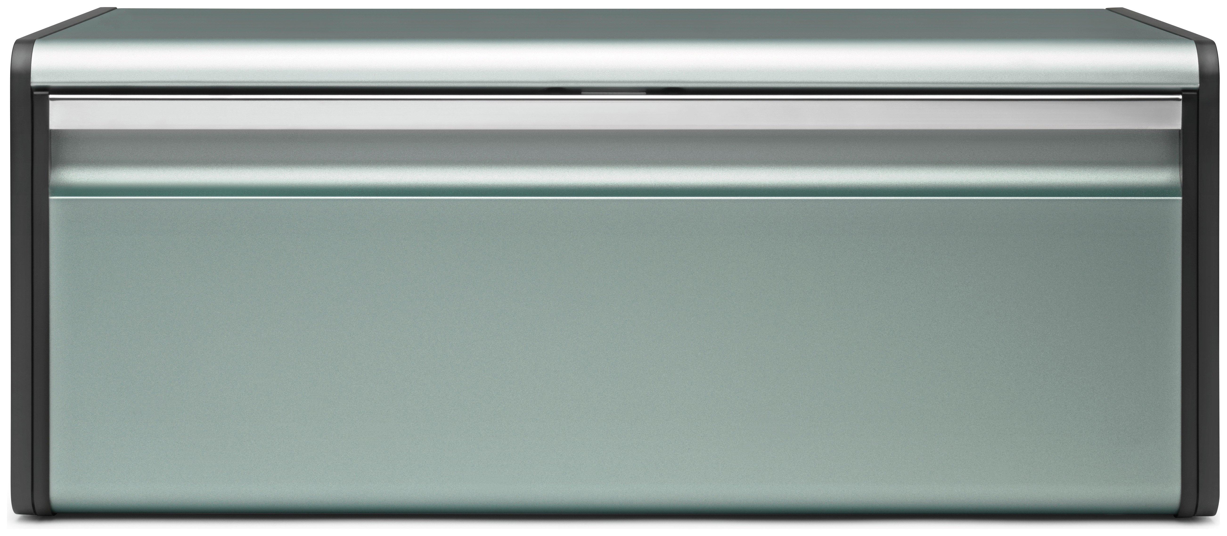 Image of Brabantia - Fall Front Bread Bin - Metallic Mint