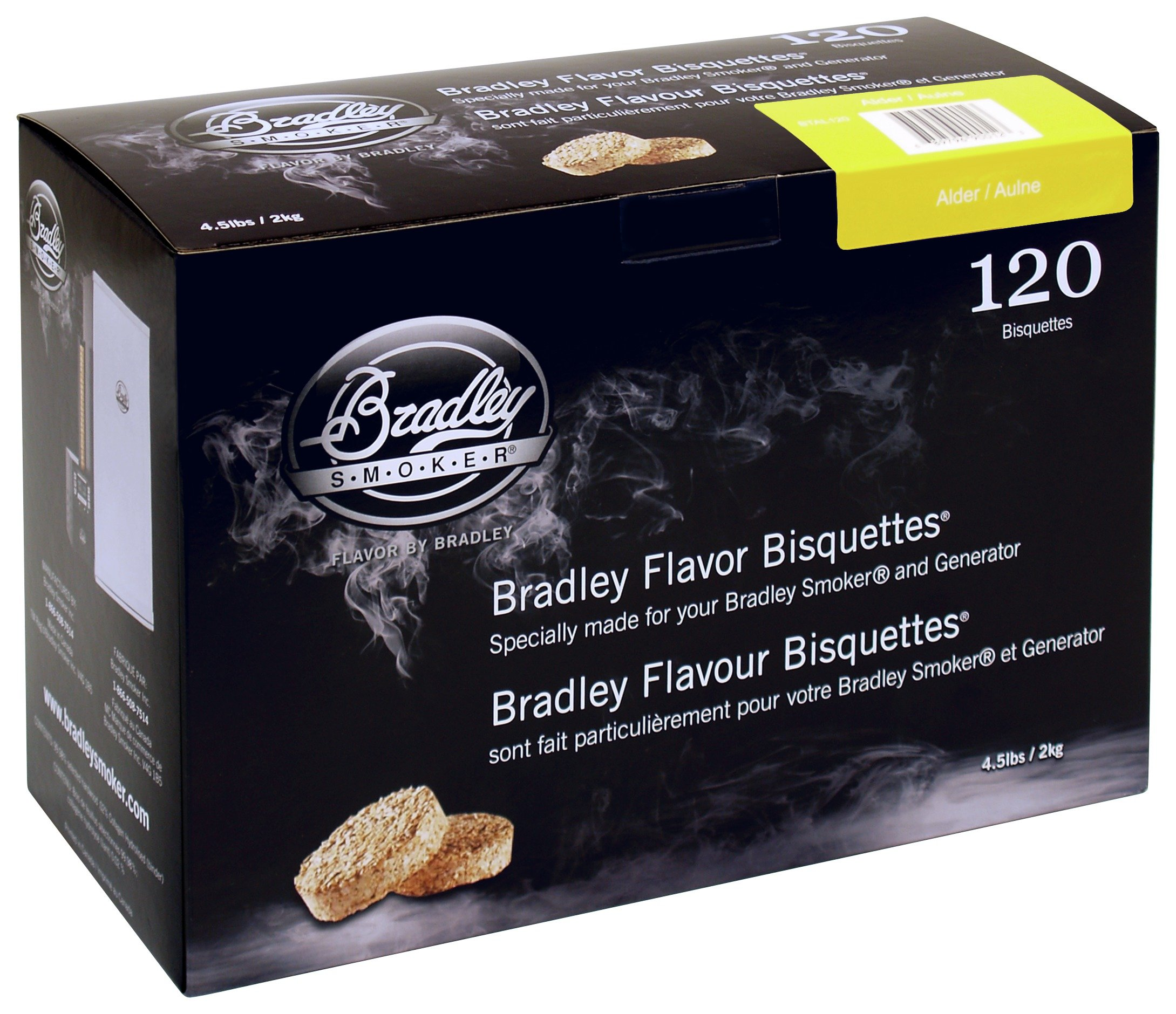 Image of Bradley Smoker - Alder - Bisquettes - 120 Pack