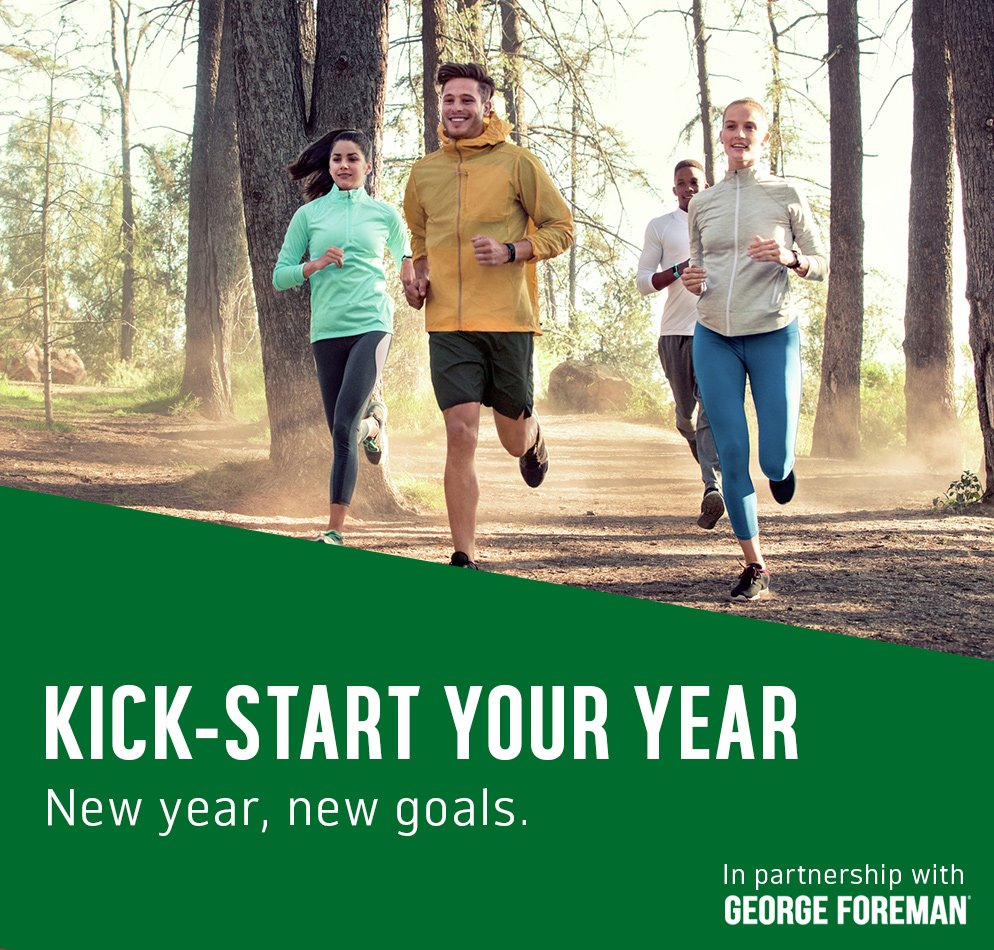 Kick-start your year. New year, new goals.