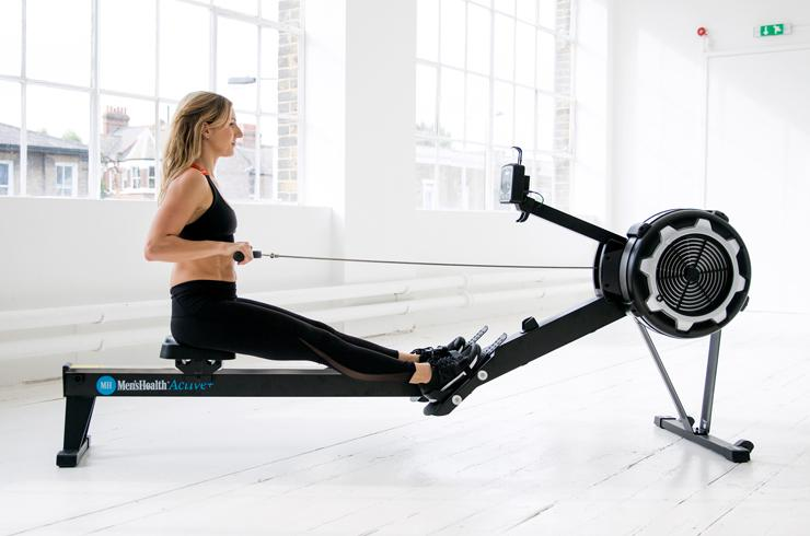 Rowing machines.