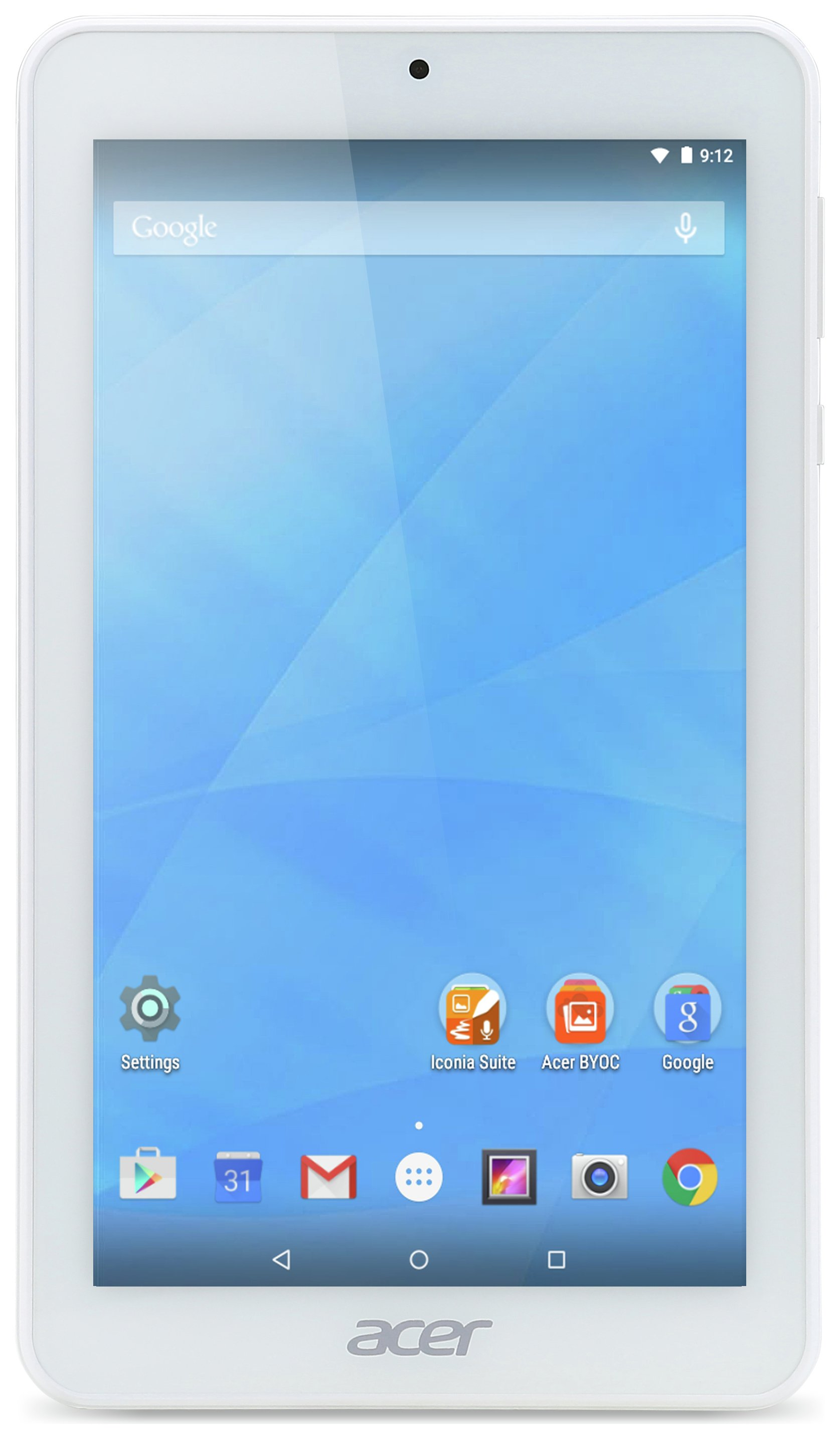 Acer Acer Iconia One B1 770 7 Inch 16GB Tablet - White.