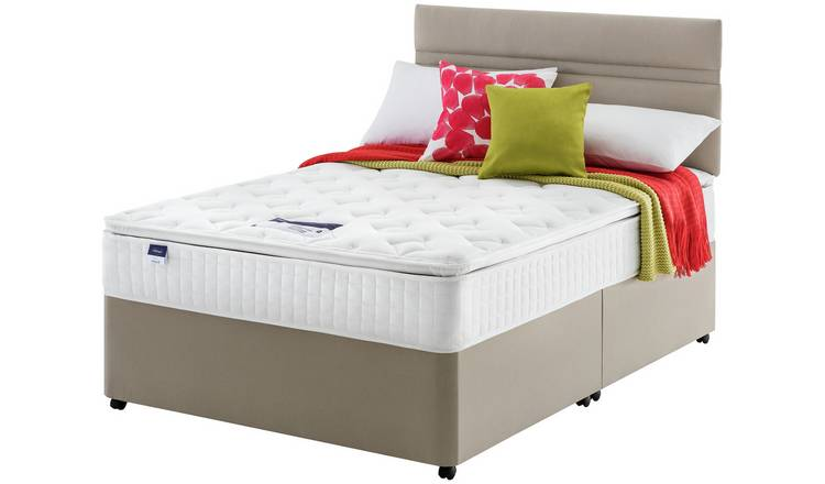 Silentnight Stanfield Pillowtop Divan - Double