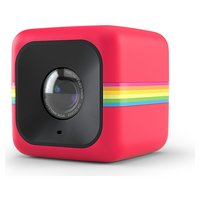 Polaroid - Cube 1080p HD - Action Camera/Camcorder - Red