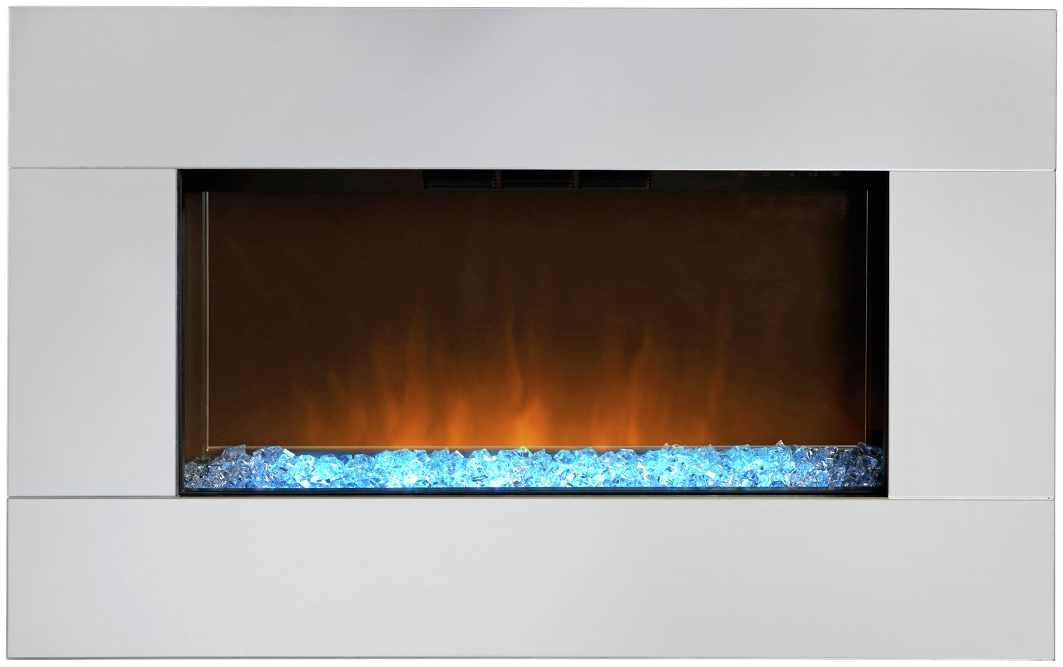 Dimplex Diamantique 1.4kW Mirrored Electric Wall Fire.