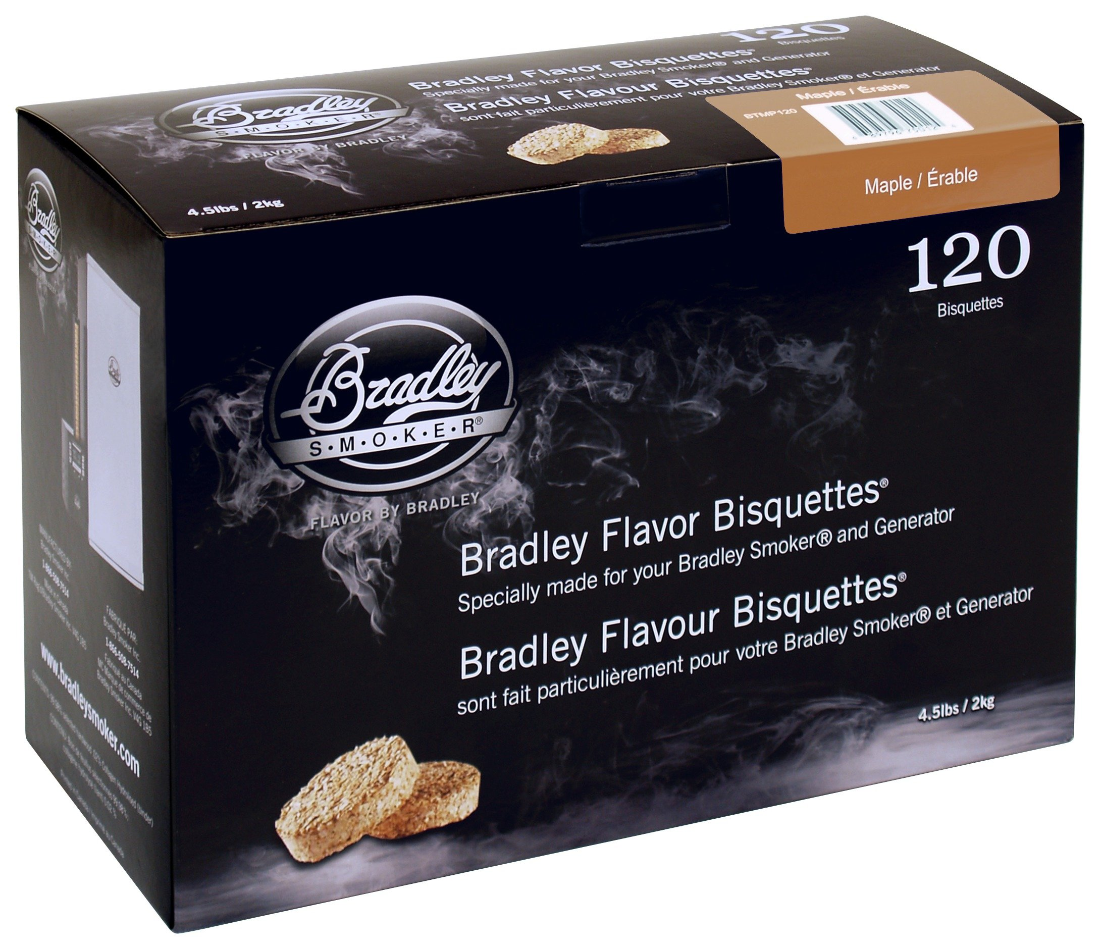 Image of Bradley Smoker - Maple Bisquettes - 120 Pack