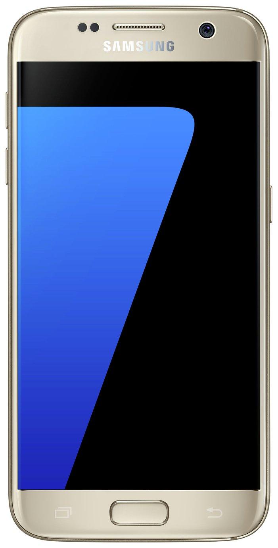 Sim Free Samsung Galaxy S7 - Gold.