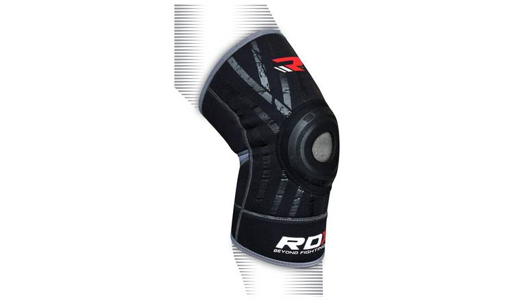 RDX Neoprene Silicon Medium to Large Knee Support - Black.