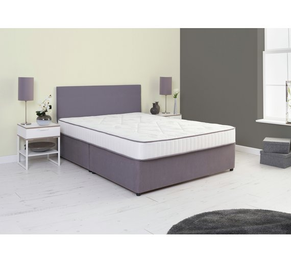 Buy Airsprung Amethyst Comfort Single Divan Non Storage At Your Online Shop For