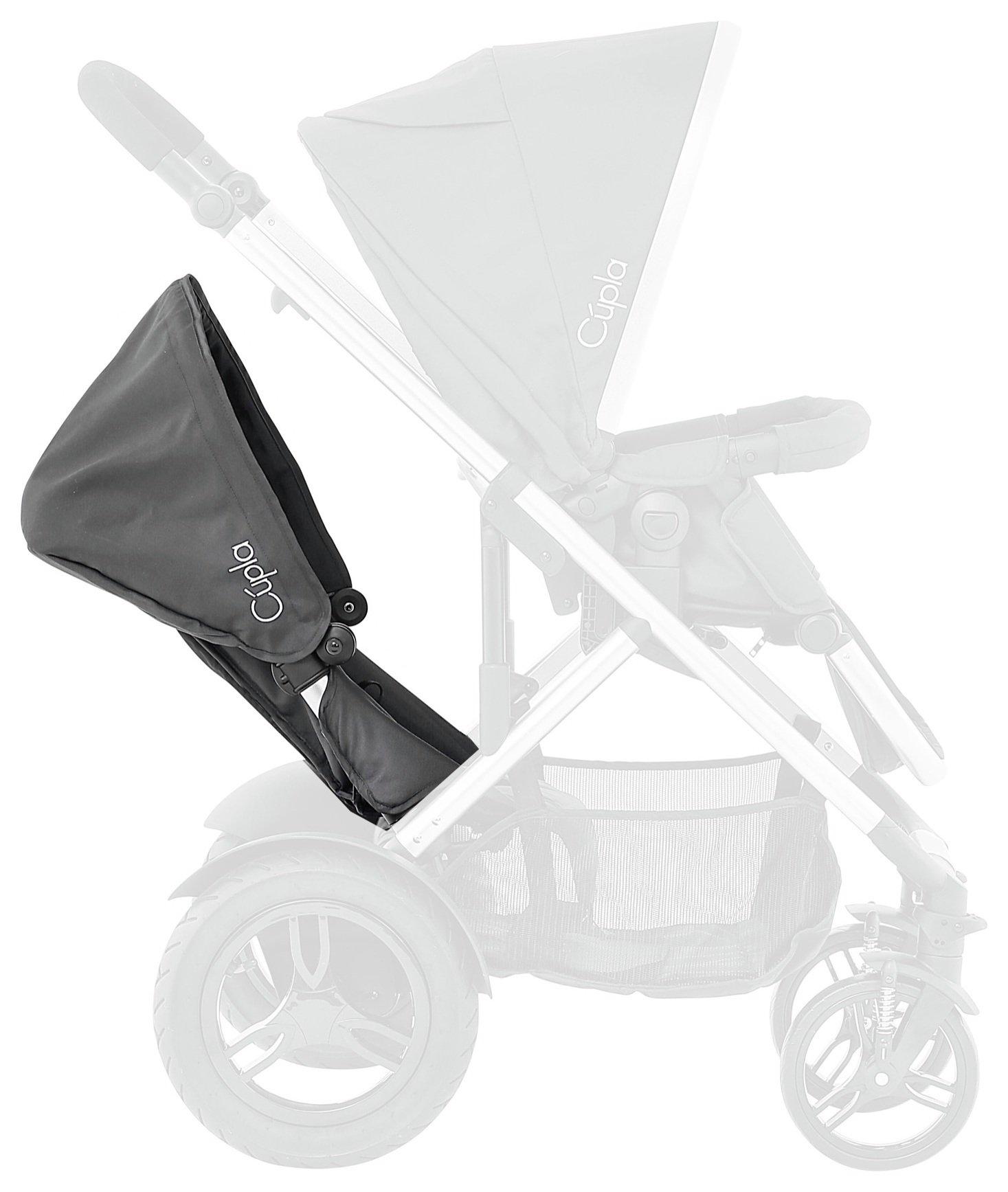 Image of Baby Elegance Cupla Toddler Seat - Black.