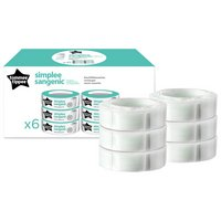 Tommee Tippee - Simplee Sangenic Cassettes - 6 Pack