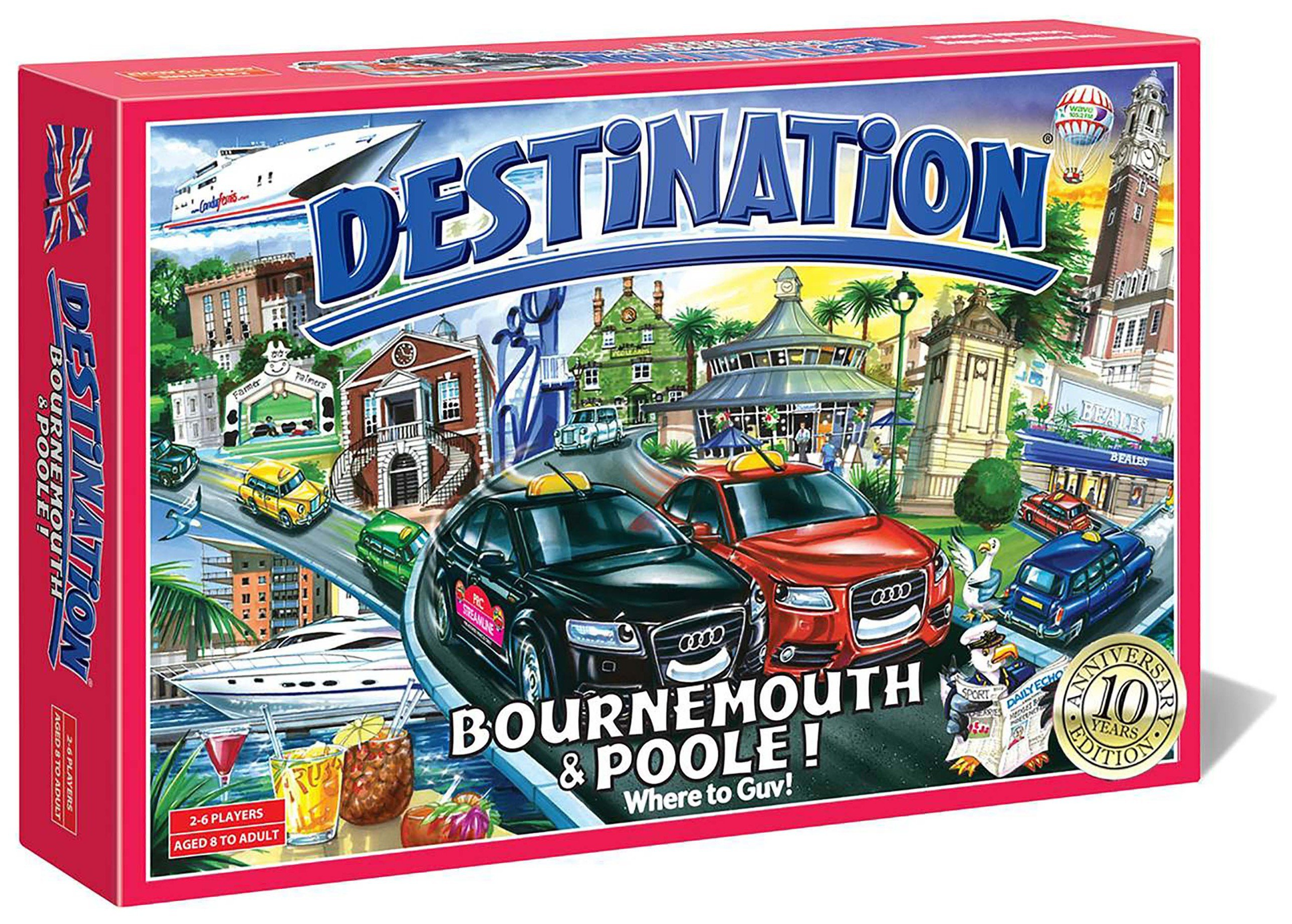 Image of Destination Bournemouth and Poole Board Game.