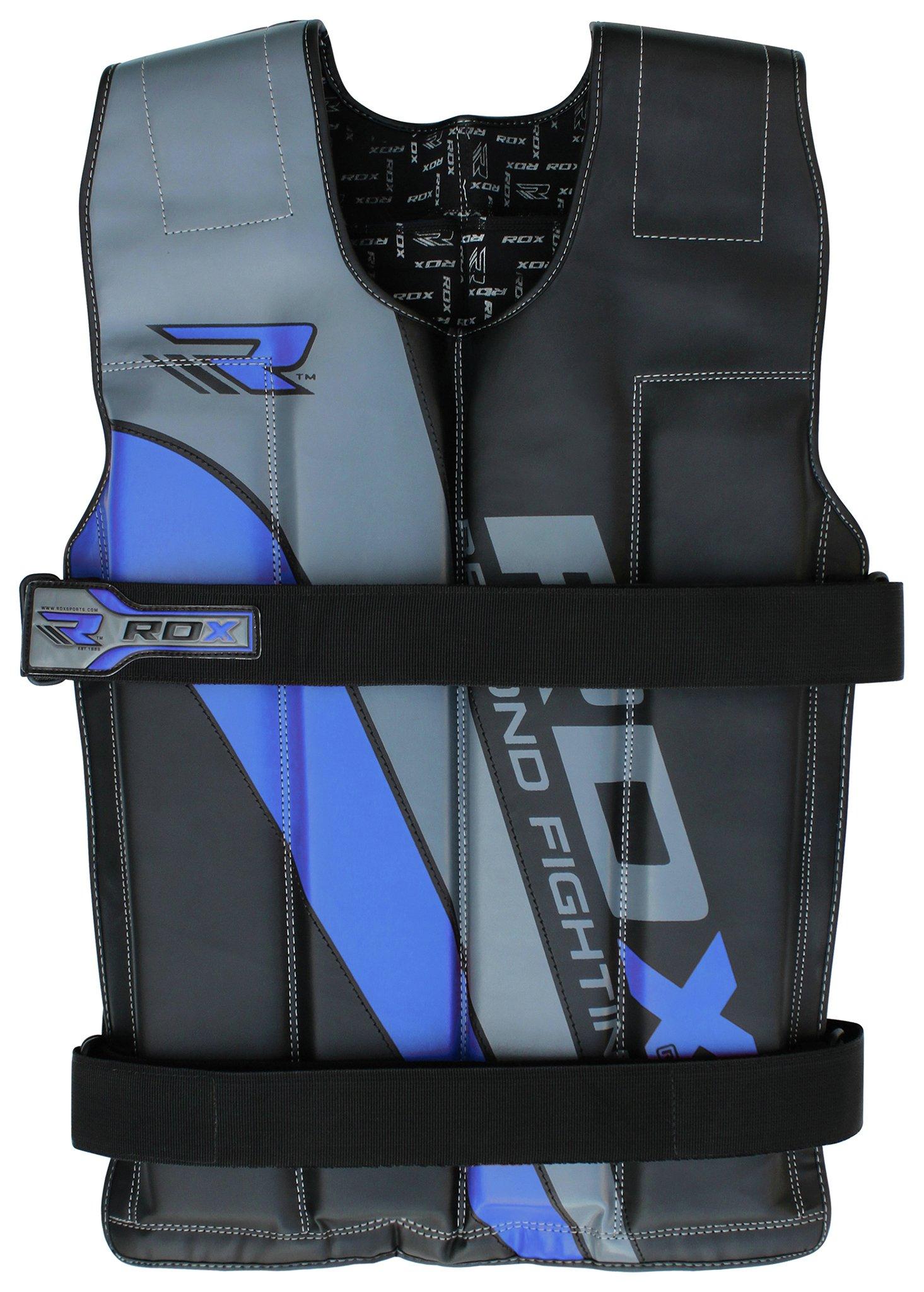 RDX - 14kg Weighted Running Vest - Blue lowest price