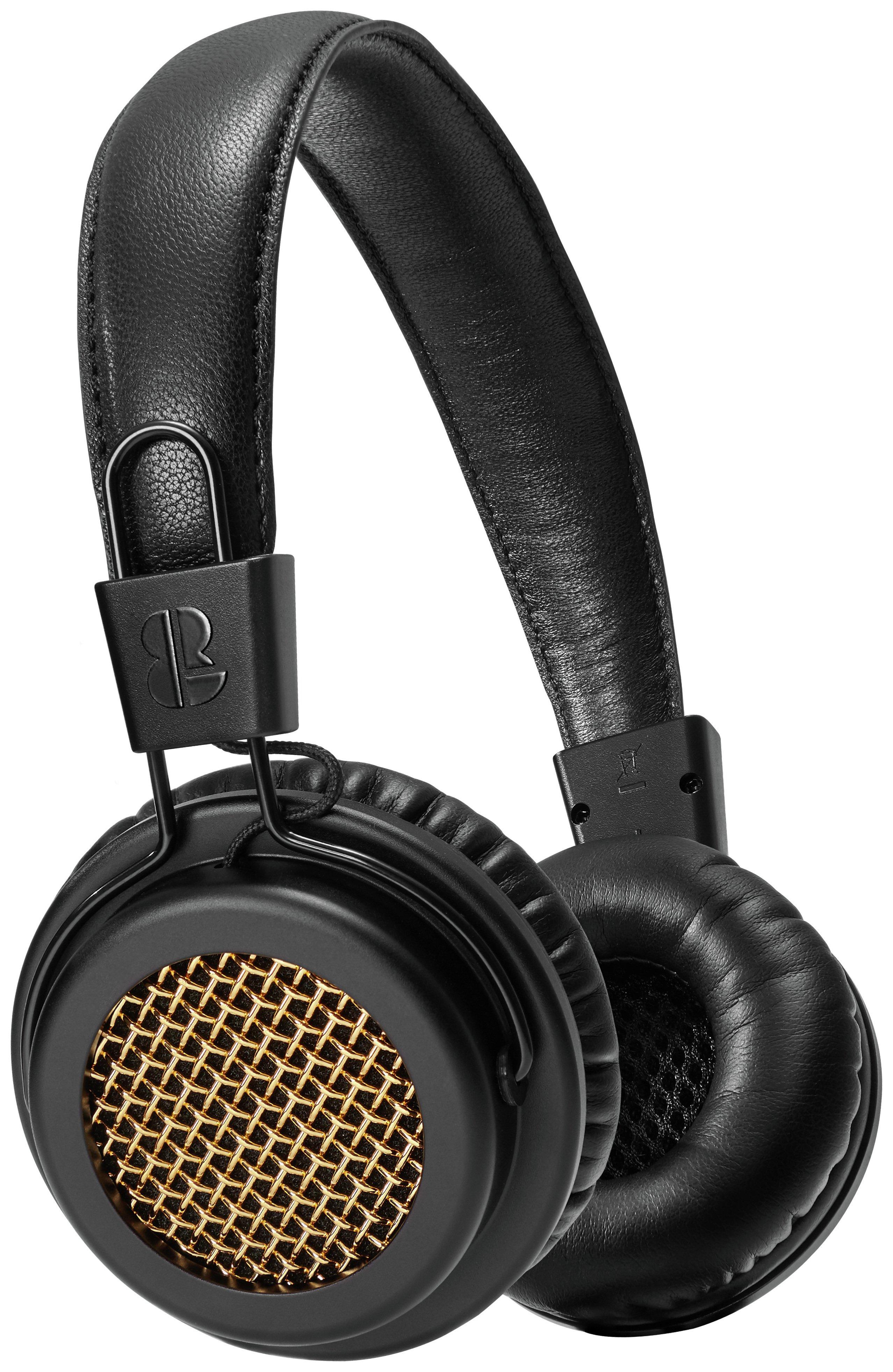 Image of BLOC & ROC - Galvanize S2 On Ear Headphones - Black/Gold