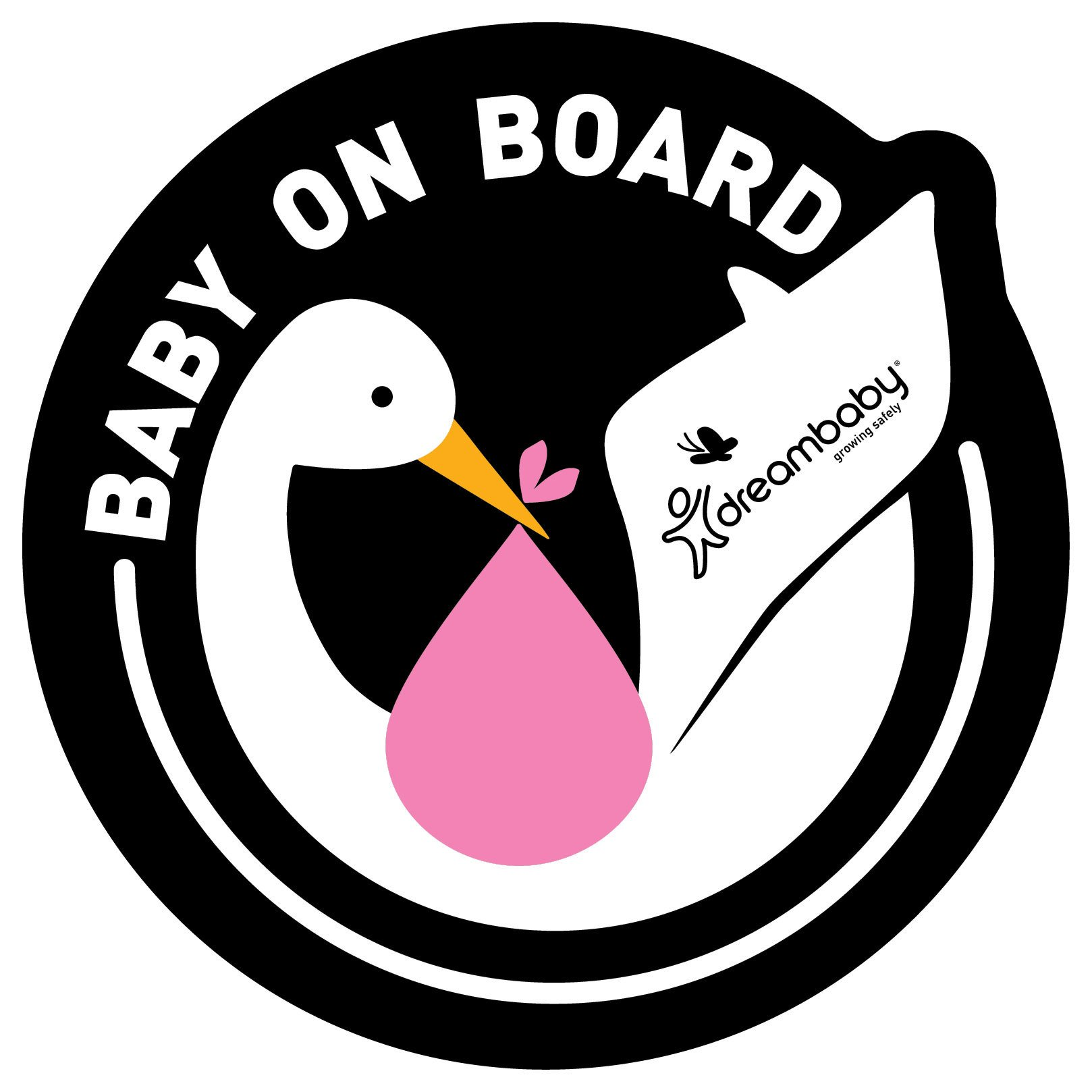 dreambaby-adhesive-pink-baby-on-board-signs-pack-of-2