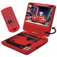 Cars 7 Inch Portable DVD Player
