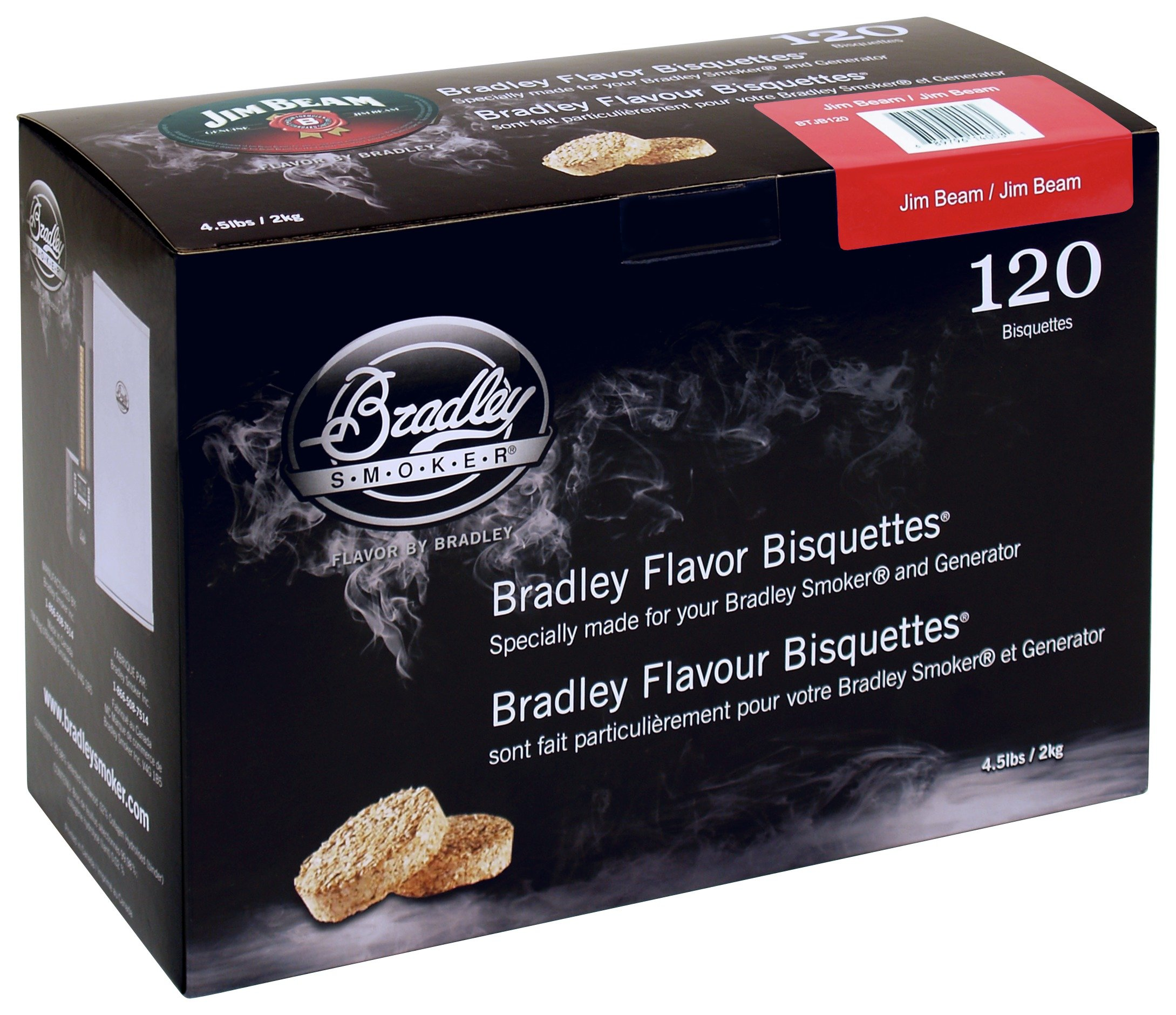 Image of Bradley Smoker - Jim Beam Bisquettes - 120 Pack