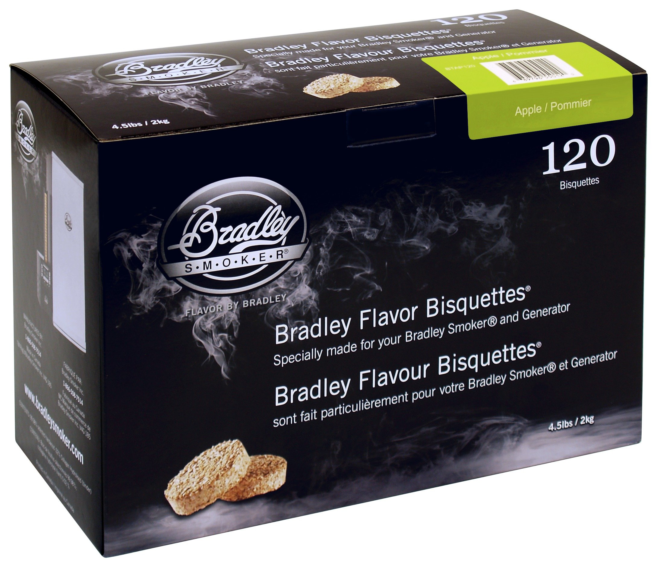 Image of Bradley Smoker - Apple Bisquettes - 120 Pack