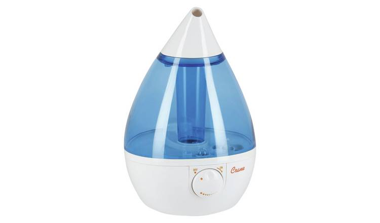 Crane Ultrasonic Cool Mist Humidifier with Light - Drop