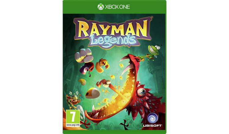 Rayman Legends Xbox One Game.