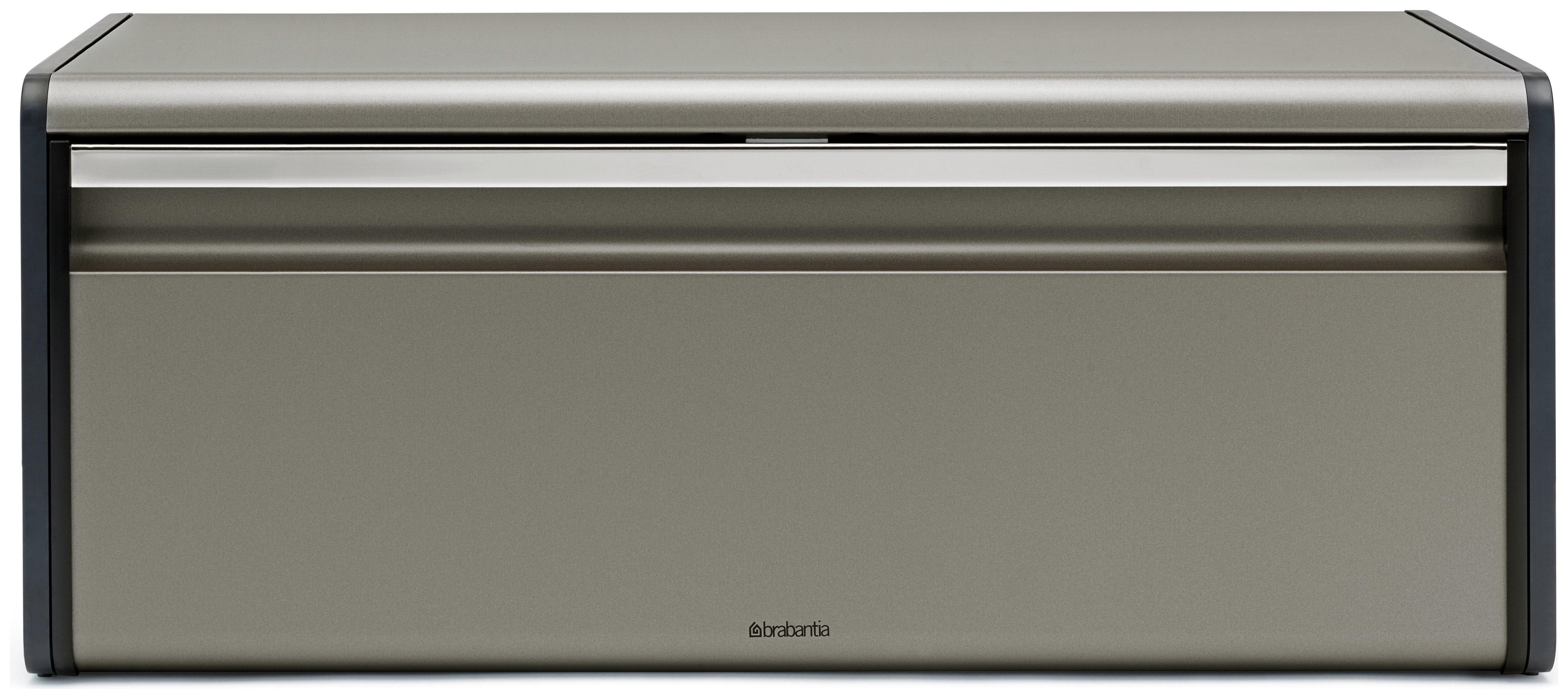 Image of Brabantia - Fall Front Bread Bin - Platinum
