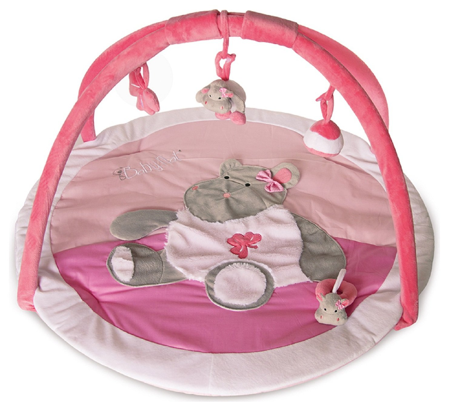 Image of Bebe Hippo Playmat - Pink