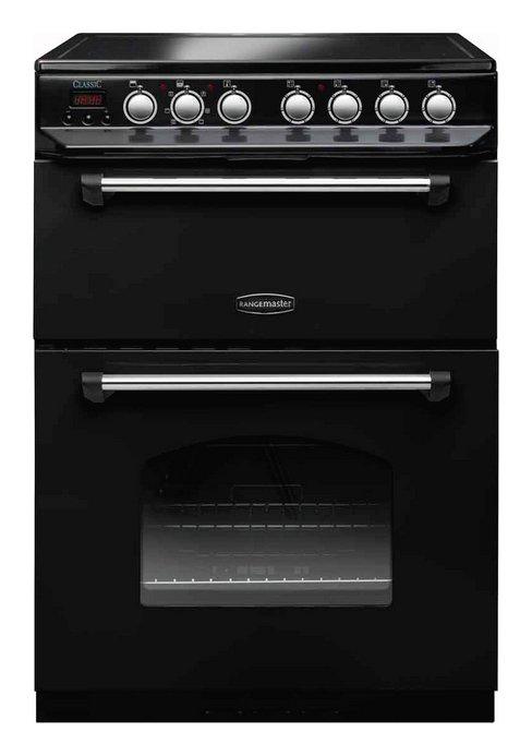 Rangemaster CLAS60ECBL/C Classic Electric Cooker - Black