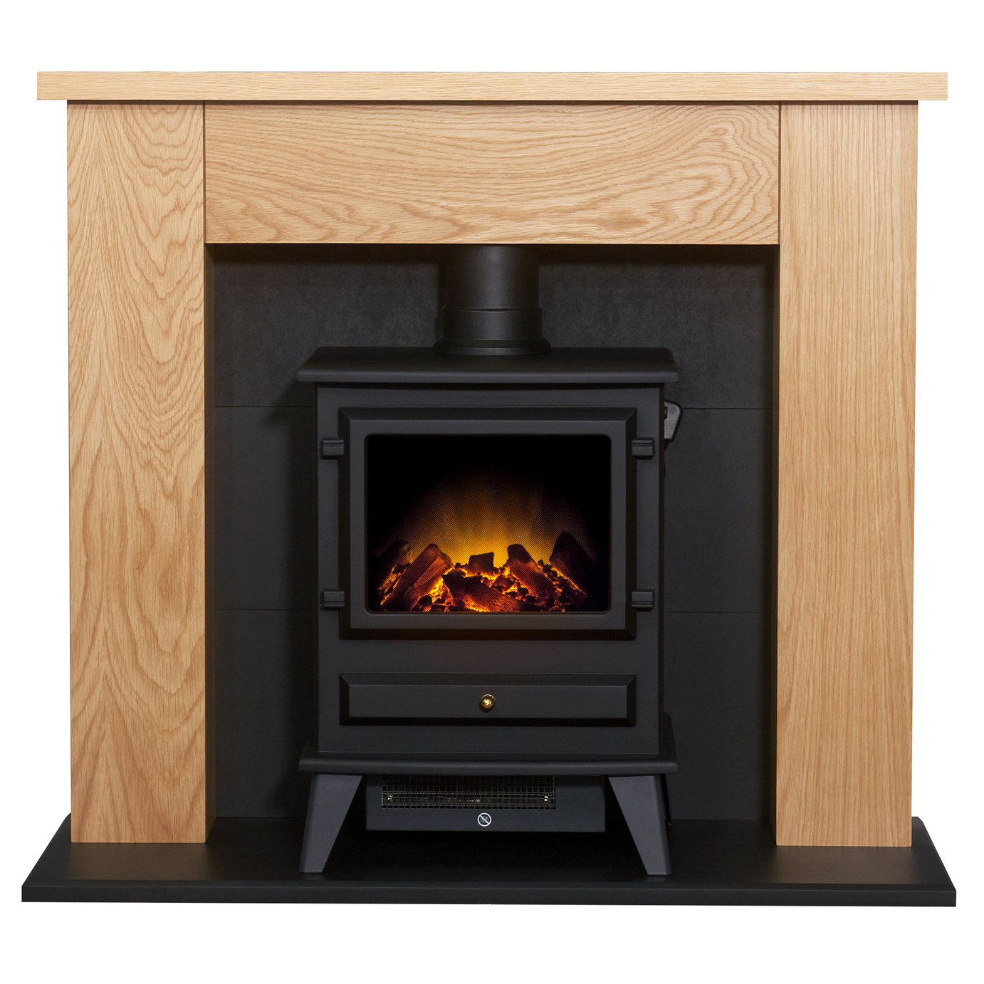adam-2kw-electric-stove-suite-oak-black