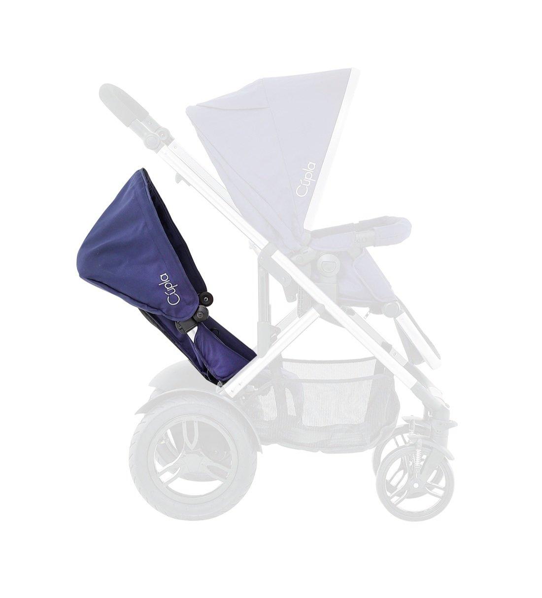 Image of Baby Elegance Cupla Toddler Seat - Navy Blue.