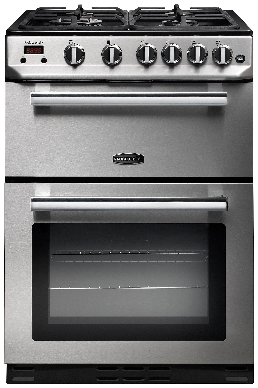 Rangemaster PROP60ECSS/C Professional Gas Cooker - S/Steel