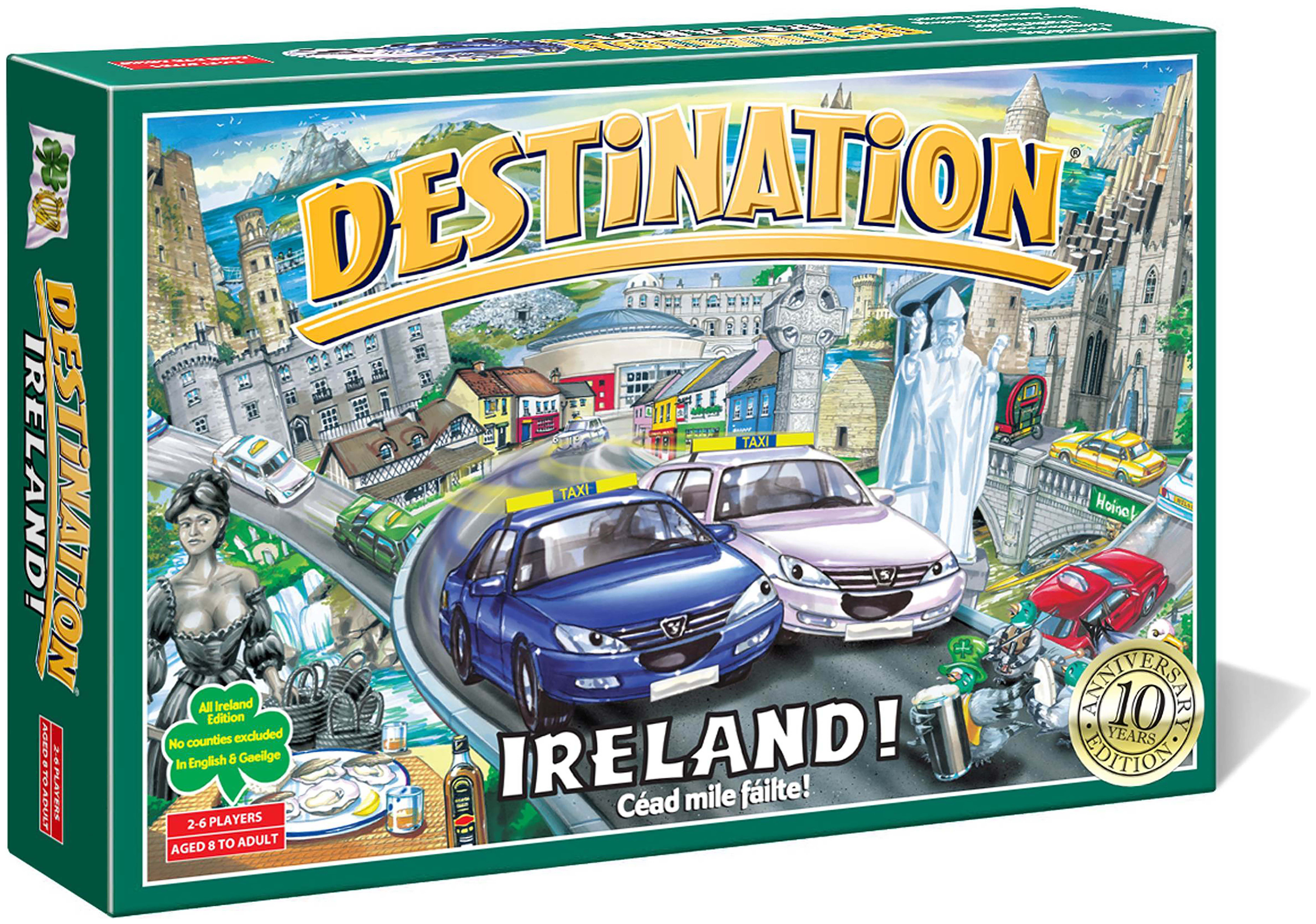 Image of Destination Ireland Board Game.