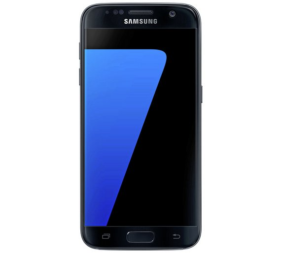 buy sim free samsung galaxy s7 mobile phone black at your online shop for sim. Black Bedroom Furniture Sets. Home Design Ideas