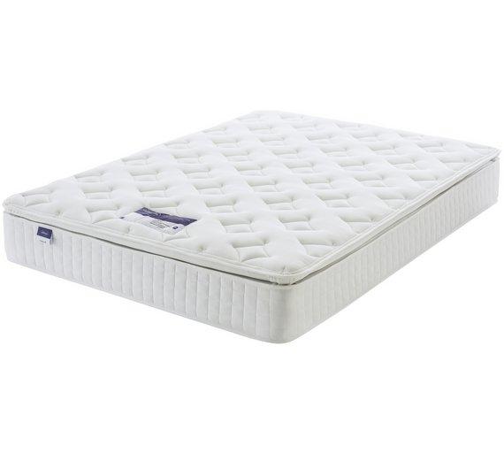 Buy Silentnight Stanfield Sprung Pillowtop Kingsize Mattress